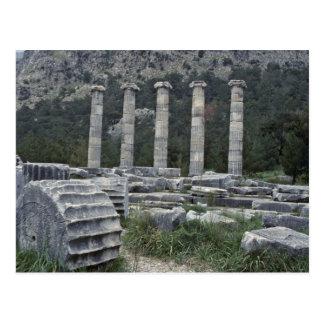 Herculean Remains Postcard