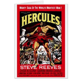 """""""Hercules"""" 1958 Card"""