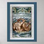 Hercules and Atlas Print