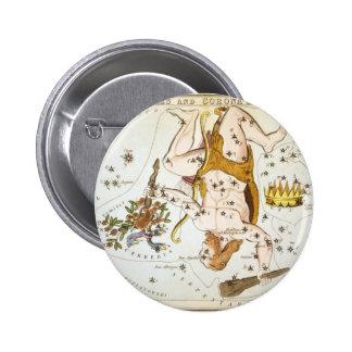 Hercules and Corona Borealis Pinback Button