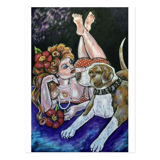 Hercules and the Pinup Post Cards