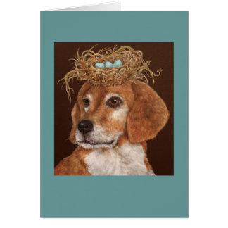 Hercules the beagle card