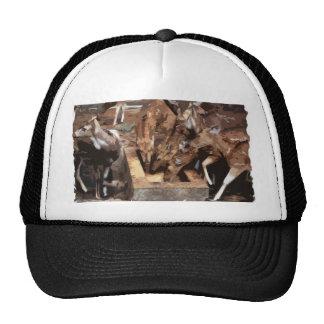 Herd of Deer - Graphic Art Mesh Hat