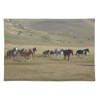 Herd of Horses Placemat
