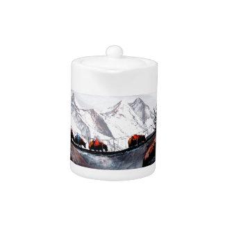 Herd Of Mountain Yaks Himalaya