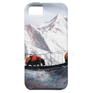 Herd Of Mountain Yaks Himalaya iPhone 5 Cover
