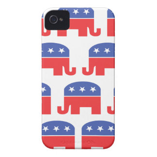 Herd of Republican Elephants iPhone 4 Case-Mate Case