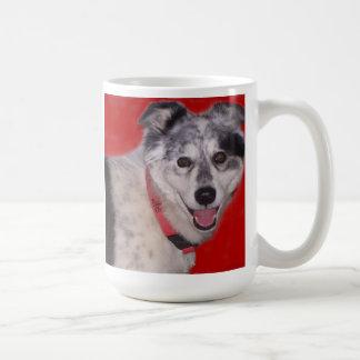 Herding dogs go for Miles Coffee Mug