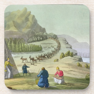 Herding Reindeer, Lapland, plate 47 from 'Le Costu Coaster