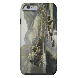 Herds of Bison and Elk on the Upper Missouri, plat Tough iPhone 6 Case