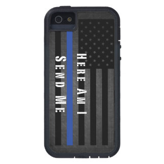 Here Am I Send Me Thin Blue Line Case