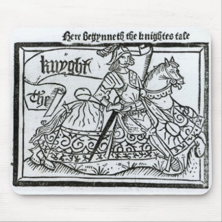 'Here Begynneth the Knightes Tale' Mouse Pad
