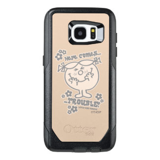 Here Comes Little Miss Trouble OtterBox Samsung Galaxy S7 Edge Case