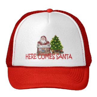 HERE COMES SANTA CAP