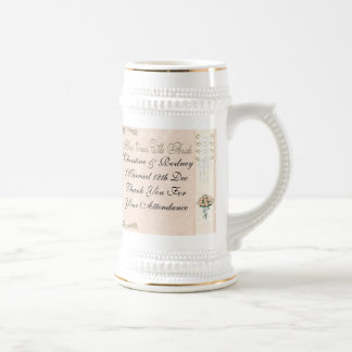 Here Comes The Bride Beer Steins
