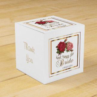 Here Comes the Bride  - Roses Favour Box