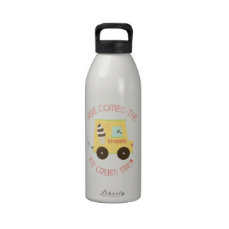 Here Comes The Ice Cream Man Drinking Bottle
