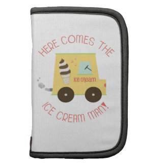 Here Comes The Ice Cream Man! Planner