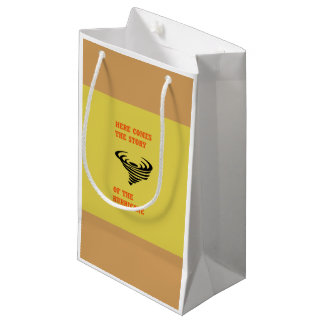 Here comes the story of the hurricane small gift bag