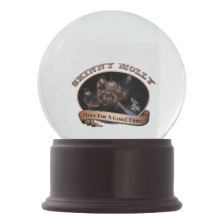 Here For A Good Time Merchandise Snow Globe