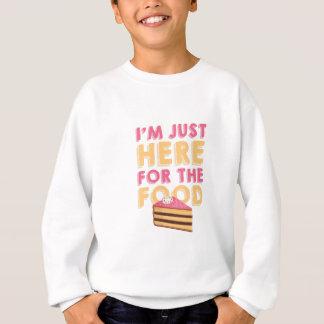Here For Food Sweatshirt