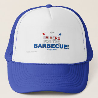 Here for the Barbecue Cap