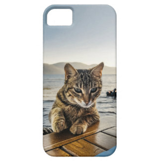 """""""Here I am"""" says the Cat iPhone 5 Cases"""