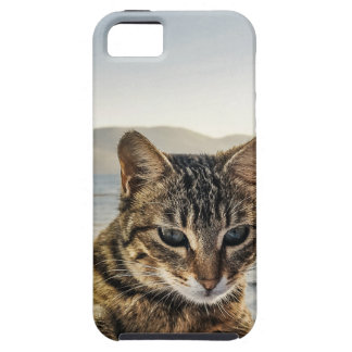 """""""Here I am"""" says the Cat iPhone 5 Cover"""