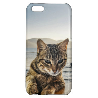 """""""Here I am"""" says the Cat iPhone 5C Cover"""