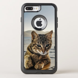 """Here I am"" says the Cat OtterBox Commuter iPhone 8 Plus/7 Plus Case"