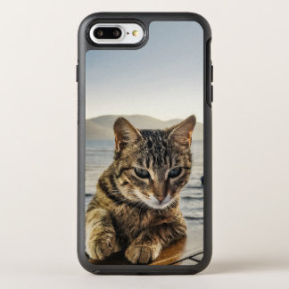 """Here I am"" says the Cat OtterBox Symmetry iPhone 8 Plus/7 Plus Case"