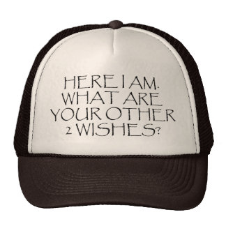 Here I Am What Are Your Other Wishes? Hats