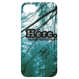 Here in the Forest Barely There iPhone 5 Case