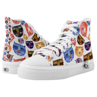 Here Kitty Kitty High Top Sneakers