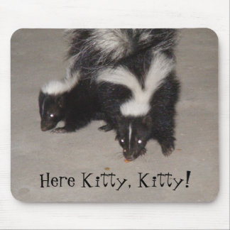 Here Kitty, Kitty! Mouse Pad