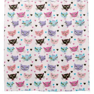 Here Kitty Kitty Shower Curtain