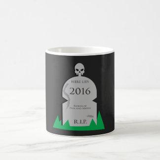 Here Lies 2016 Tombstone Coffee Mug