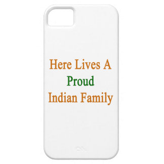 Here Lives A Proud Indian Family iPhone 5 Covers