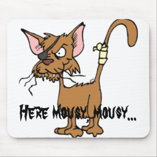 Here mousy.. mouse pad