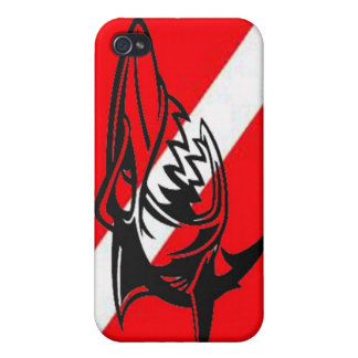 Here sharky sharky case for iPhone 4