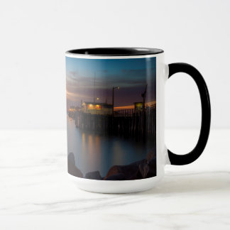 Here She Comes Again Sunrise at Harford Pier Mug