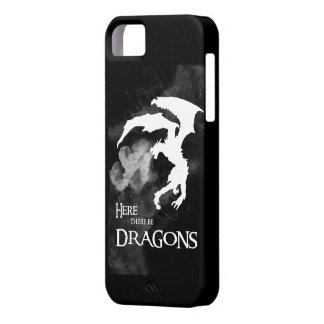 Here There Be Dragons iPhone case iPhone 5 Cover