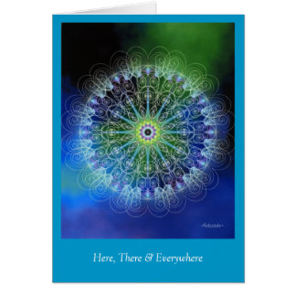Here, There & Everywhere Greeting Card