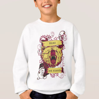 here we stand, cute monkey sweatshirt