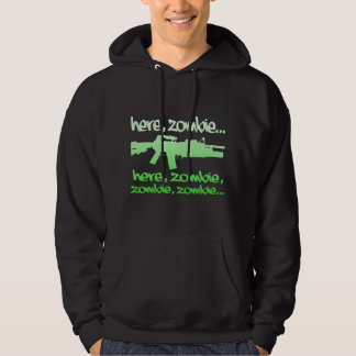 Here, Zombie Zombie... Hooded Pullovers