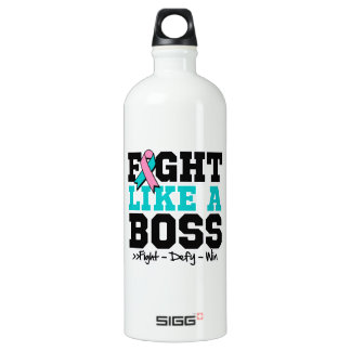 Hereditary Breast Cancer Fight Like a Boss SIGG Traveller 1.0L Water Bottle