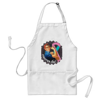 Hereditary Breast Cancer Fighter Gal Standard Apron