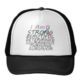 Hereditary Breast Cancer  I Am Strong Survivor Trucker Hat