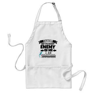 Hereditary Breast Cancer Met Its Worst Enemy in Me Standard Apron