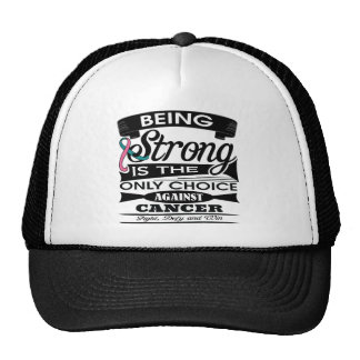 Hereditary Breast Cancer Strong is The Only Choice Hats